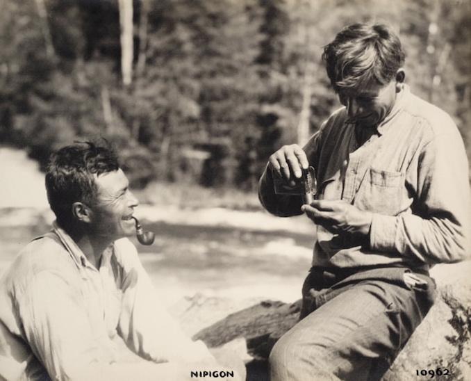 1925 - H. Armstrong Roberts - Nipigon - Men Smoking