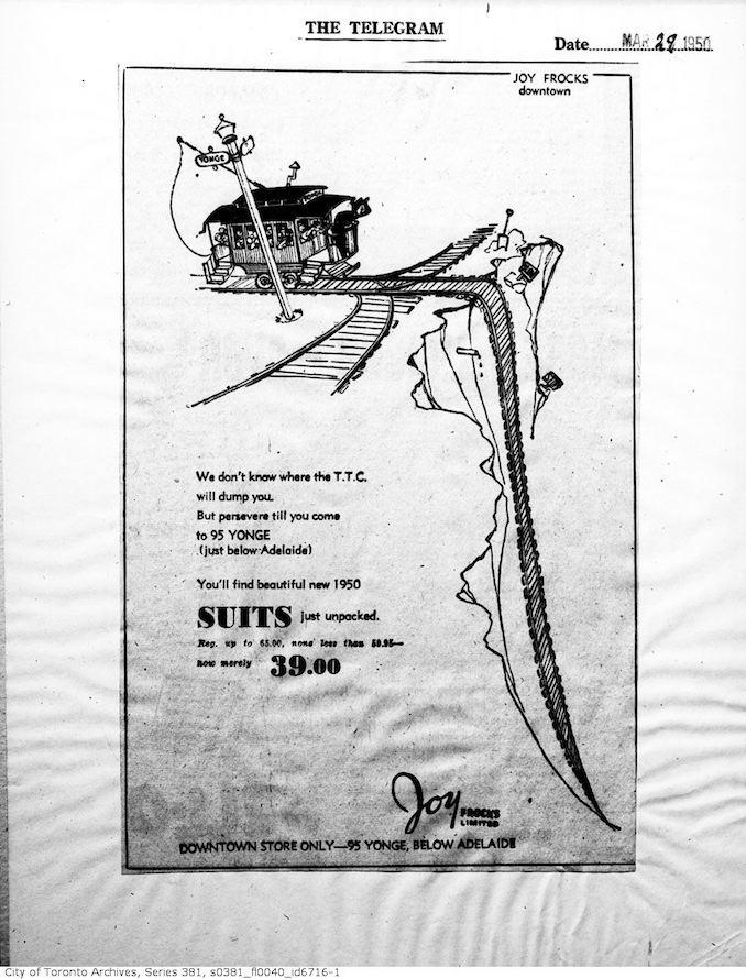 1950 - Joy Frocks Ltd.