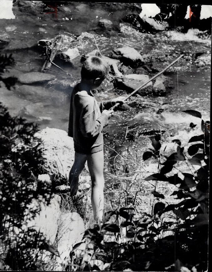 1965 - Norman James - Since 1922 Bolton Camp has introduced city children to the joys of summer activities like camping and fishing in a cool; peaceful stream