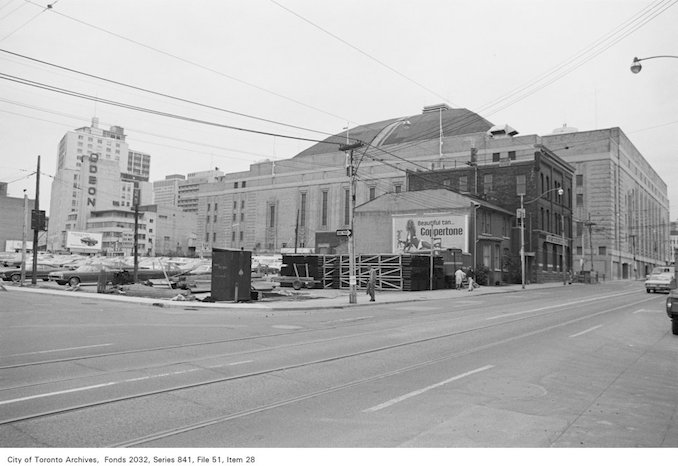 1972 - Corner of Church St. and Granby St., looking north-west