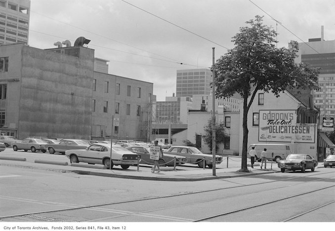 1972 - Corner of McCaul St. and Orde St., looking south-east