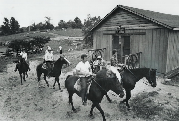 1972 - Graham Bezant - Riding is a sport many youngsters enjoy at summer camp; The Ontario Camping Association's directory lists majority of residential camps.