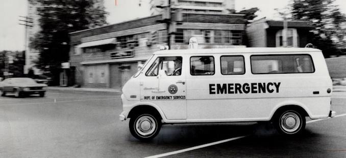 1974 - Erin, Combs - Canada - Ontario - Toronto - Metro - Ambulance Service