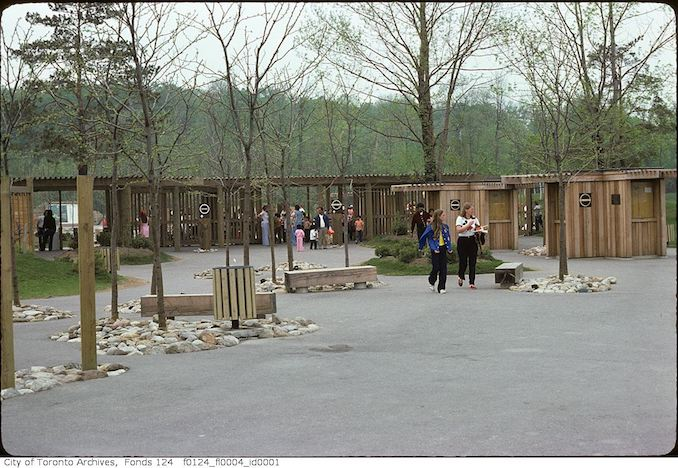 1975 - May - Entrance, Metro Toronto Zoo