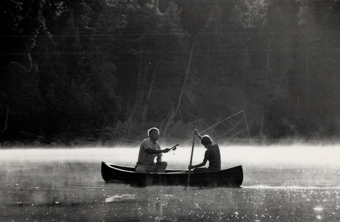 Vintage Ontario - 1987 - Dick Loek - Camping Canoe tripping Algonquin park fishing Rick and Richard Loek