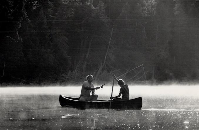 Vintage Ontario - 1987 - Dick Loek - Camping Canoe tripping Algonquin park fishing Rick and Richard Loek