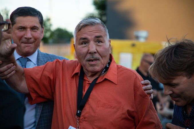 George Chuvalo, five-time Canadian Heavyweight Champion, is constantly investing back into his community and the sport of boxing. Just shy of 81 years old, Chuvalo makes ut out to support nearly every pro and amateur show in Ontario.