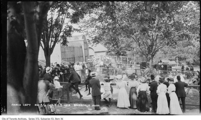 1912 - July 13 - Riverdale Zoo