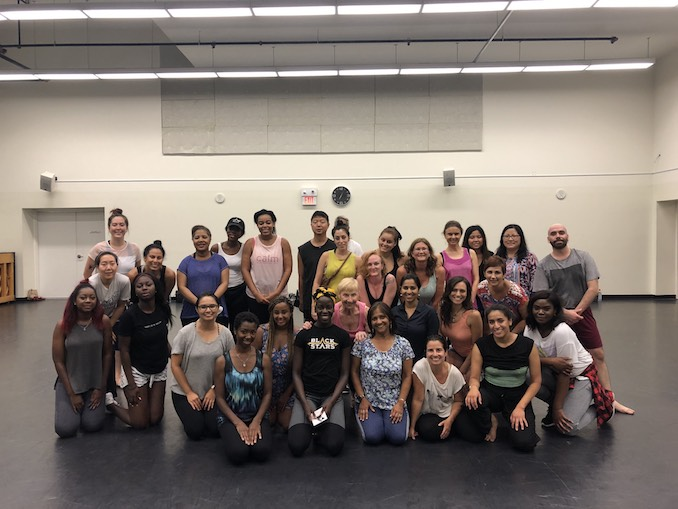 3.First class at the Sony Centre. Free community classes every Wednesday! Next two classes are 12th and the 19th at 6pm.