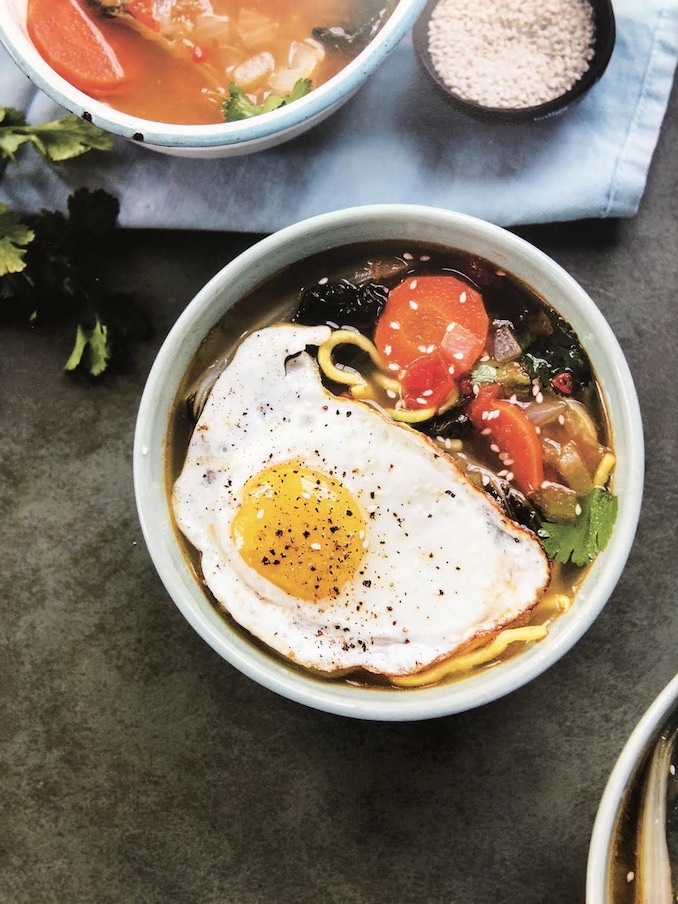 Spicy Bok Choy Miki Noodle