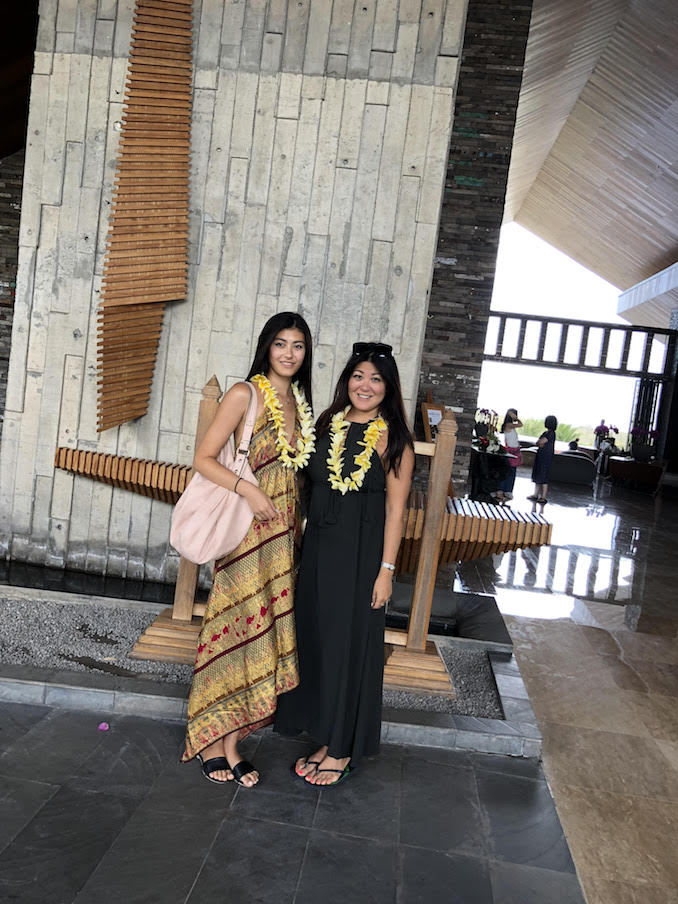 Toronto Noriko Oyama LUXFINDZ - Vacationing in Bali with my daughter Jacqueline McRae who just happens to be an international model, so we bounce ideas off one another.