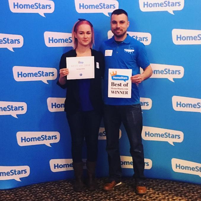 The Urban Palette - Homestars Award