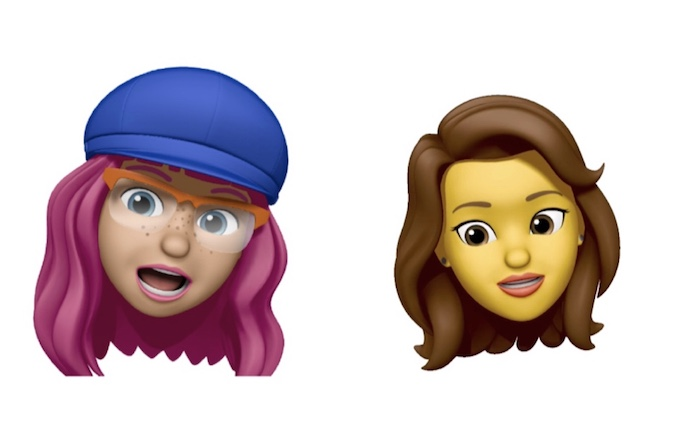 iPhone XR memojis