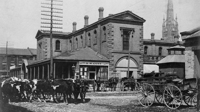 1898 - North Market Front Street East