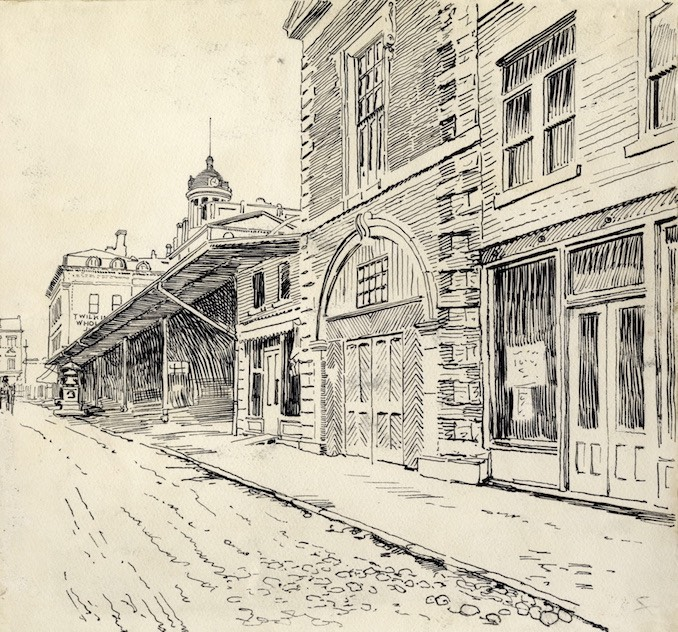 1898 - Owen Staples, pen and ink