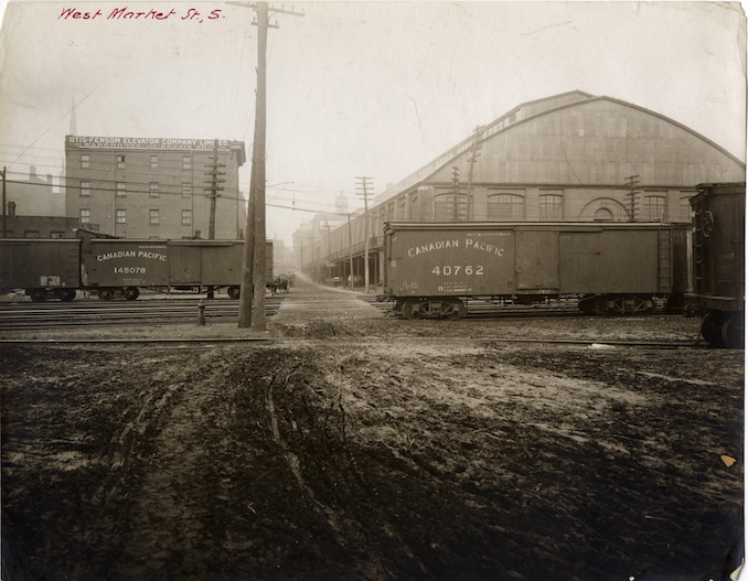 1907 - west market street, looking north