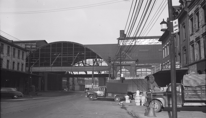 1952 - south market, before modern renovations