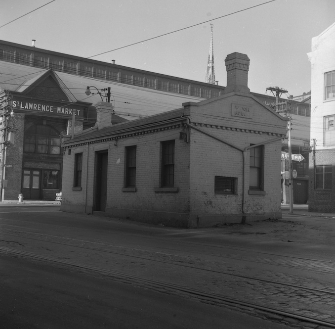 1956 - old weigh house