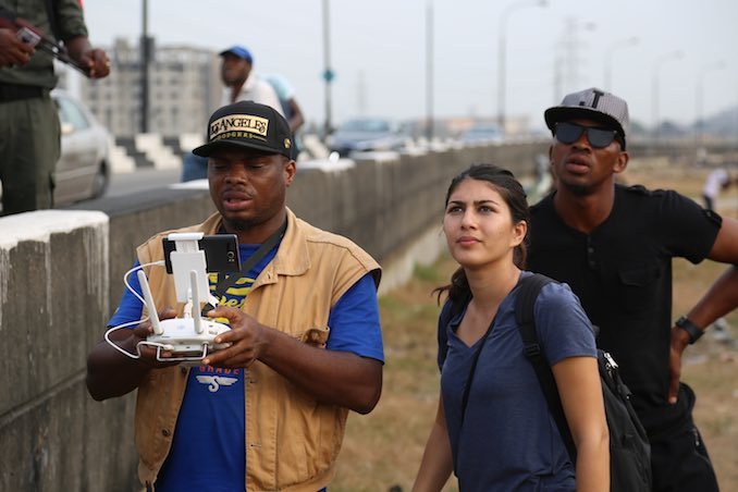 But not gonna lie - I do get to work in the occasional interesting location! On location in Nigeria directing Take Light.