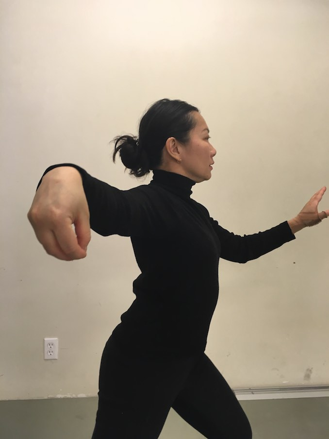 daily tai chi keeps me grounded and calm