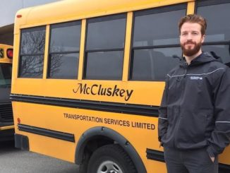 Chris McCluskey, our Operations Supervisor (and grandson of Austin McCluskey, the man that started McCluskey Transportation 2