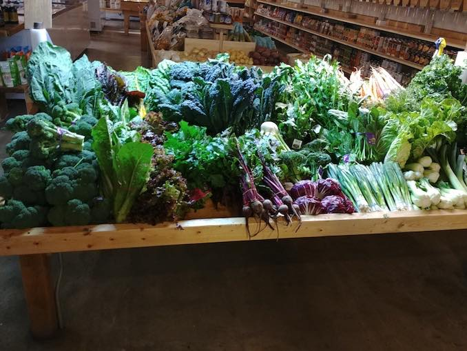 Vegetables. A bit bougie to include vegetables but my future as a farmer depends on loving them up.