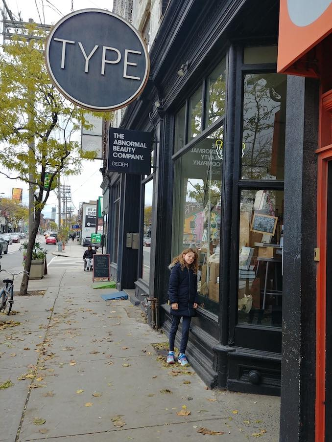 Ellington at our favorite Toronto bookstore