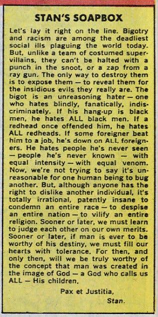 Stan Lee Obituary