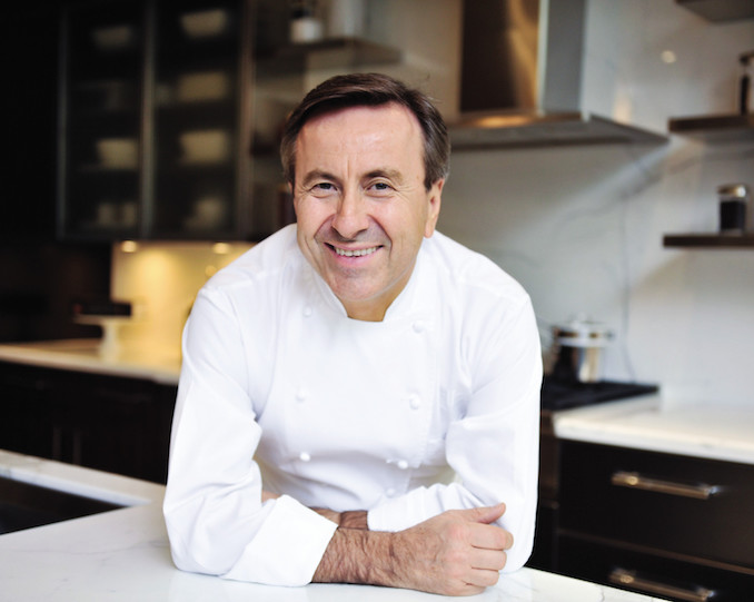 James Beard Foundation dinner Toronto with Daniel Boulud