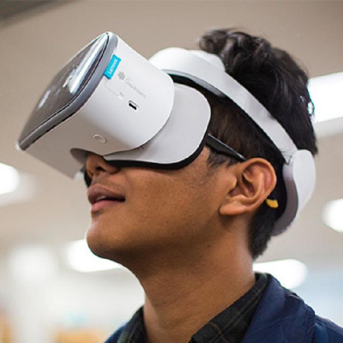 Lenovo VR classroom