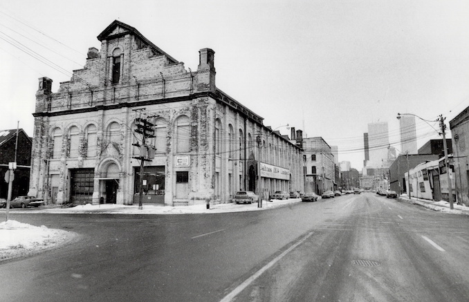 old Marachino cherry factory on front street which now houses the canadian opera company