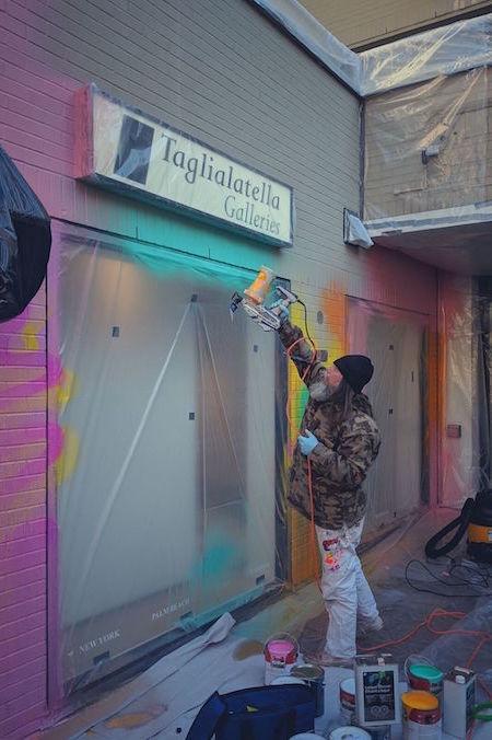 graffiti artist RISK