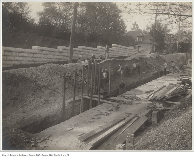 Toronto Sewer System - 1890? - Avenue Road sewer copy 2