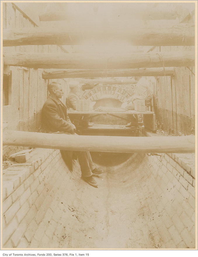 1890? - Garrison Creek sewer, northwest branch