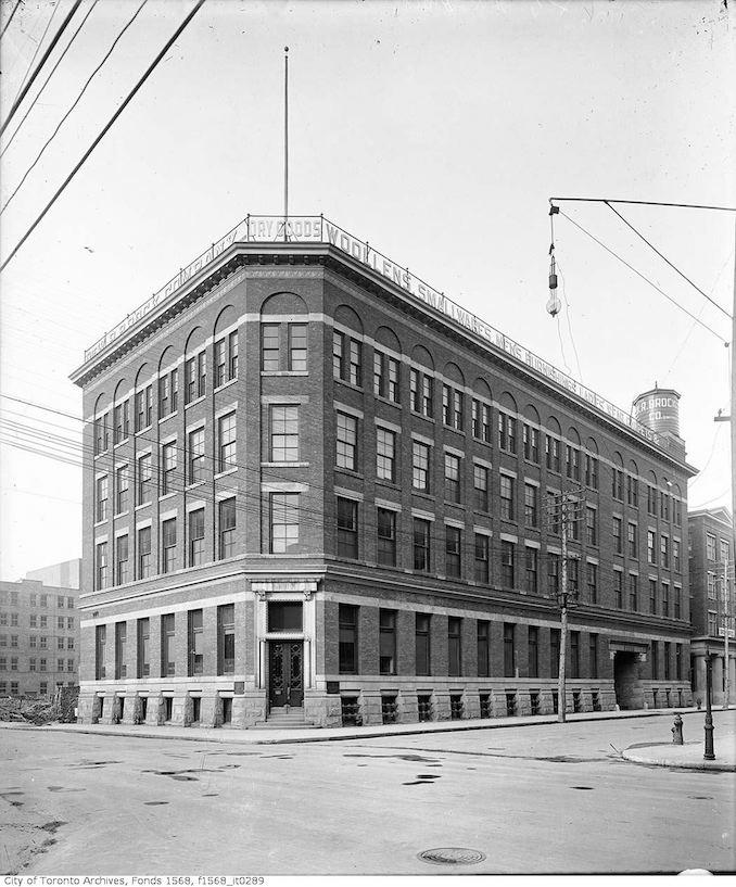 1900 - Bay and Wellington