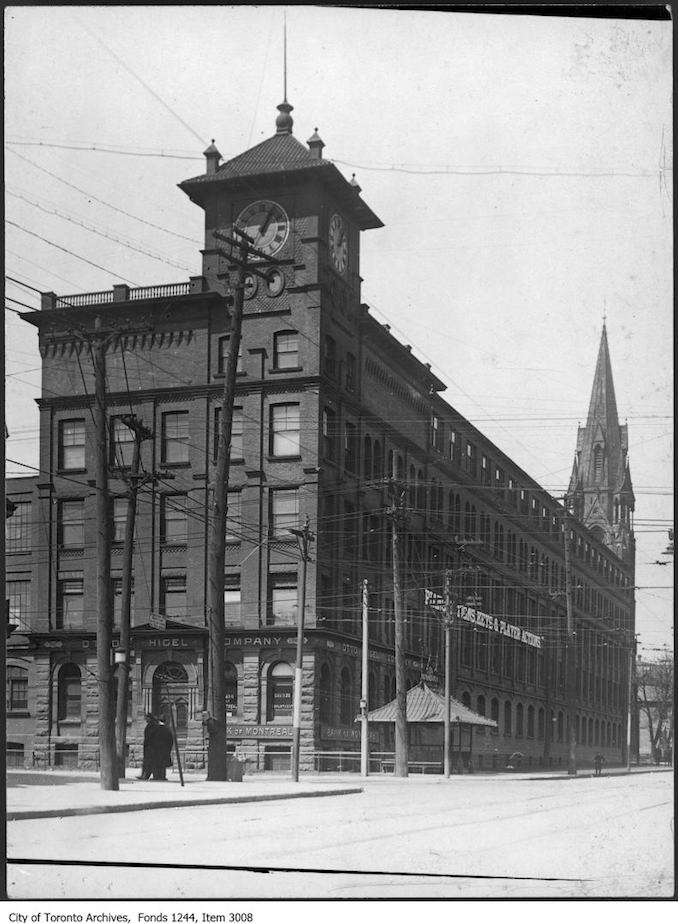 1919 - King and Bathurst - Piano factory