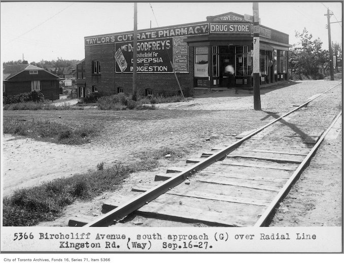 1927 - Kingston Rd and Birchcliff