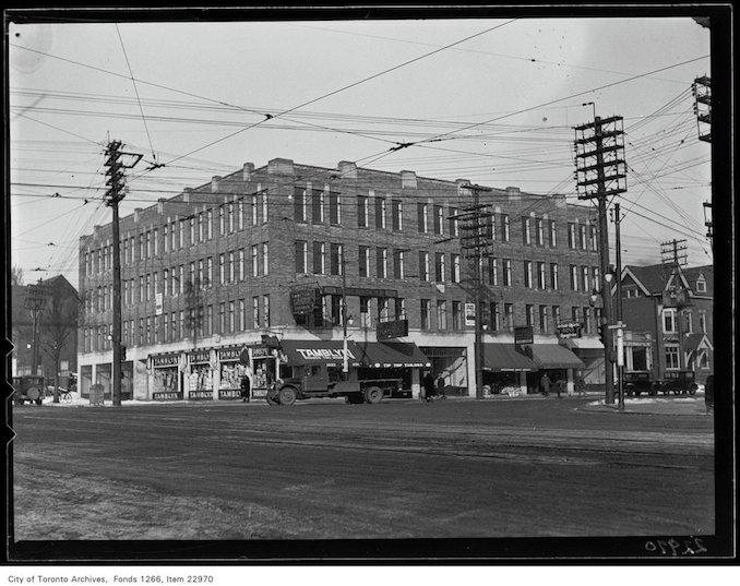1931 - NE Corner Spadina and College