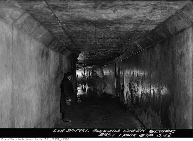 1931 - Rosedale Creek Sewer near Ramsden Park