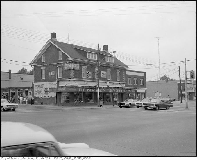 1967 - Dempsey Brothers Store - Yonge and Sheppard