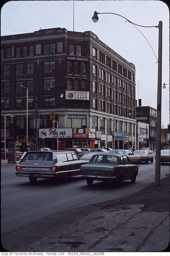 1969 - Bay and Bloor SE Corner