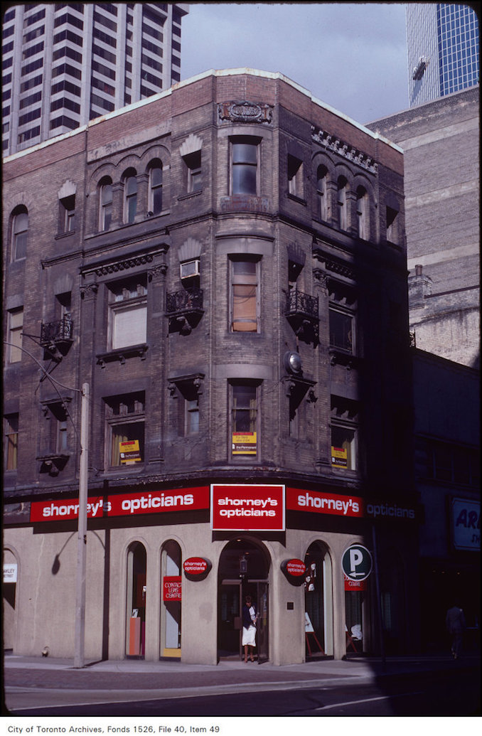 1982 - NW Corner Yonge and Temperance