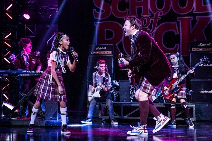 Cast of School of Rock - Photo by Evan Zimmerman - MurphyMade