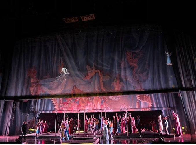 Cirque du Soleil's Corteo - Current production I am working on.