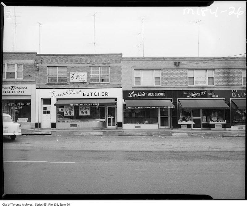 1956 - Leaside Shoe Service
