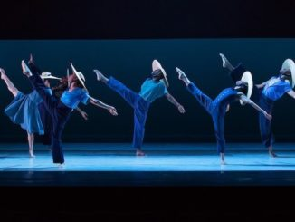 Alvin Ailey dancers in Members Don't Get Weary. Photo by Paul Kolnik.