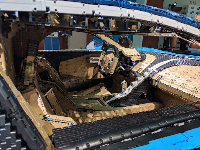 LEGO Bugatti 2 interior