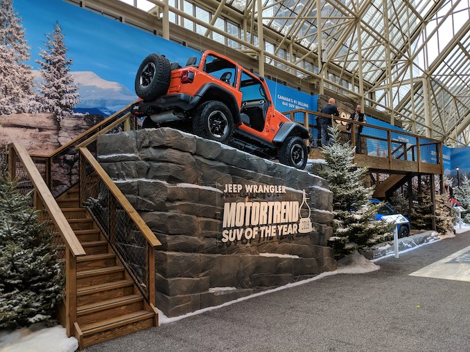 Jeep Display CIAS 2019
