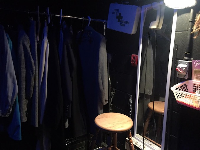 My dressing room