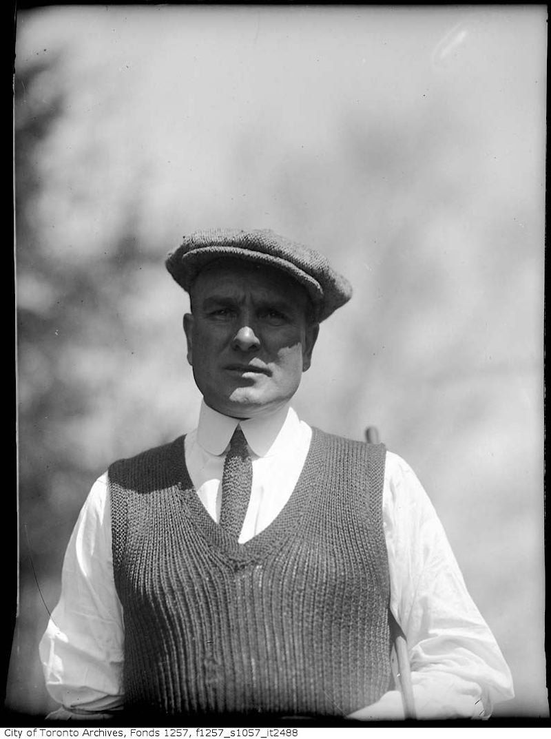 1920 - 1940 - Golfer George Cummings - old golf photographs in toronto
